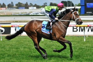 Trainer Trent Busuttin saddled Sangster to victory in the 2011 Victoria Derby