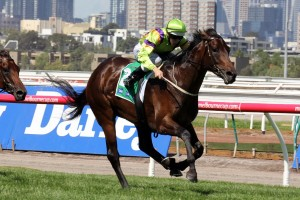 Solicit stamped herself as a leading contender for the 2014 Australian Oaks with strong wins in The Vanity and the Kewney Stakes.