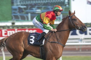 Happy Trails will vie for back-to-back wins in the Turnbull Stakes at Flemington on Saturday.