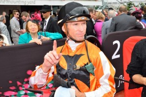 Glyn Schofield will ride favourite Always Allison in the Sweet Embrace Stakes.