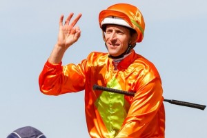 Hugh Bowman,above, will ride Malaguerra in the Stradbroke Handicap at Eagle Farm. Photo by Sarah Ebbett.