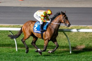 Lankan Rupee displayed some of his autumn potential in a barrier trial at Caulfield on Tuesday.
