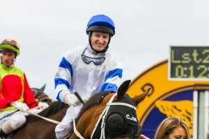 Jockey Craig Newitt delivered a sensational ride of Trade Commissioner in the 2014 Wagga Cup
