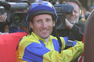 Damien Oliver will partner leading contender Bahamas is Saturday's 2015 SA Fillies Classic. Photo: Daniel Costello