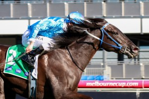 Fontein Ruby (pictured winning the Edward Manifold Stakes) will run the Caulfield Classic on her way to the Crown Oaks.