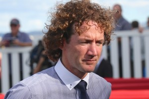 Trainer Ciaron Maher, will saddle up Bons Away in the Sir Rupert Clarke Stakes at Caulfield before beginning a six months suspension.  Photo by Daniel Costello.
