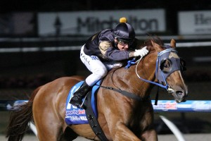 Robert Smerdon is unsure how Reldas will perform down the straight at Flemington this weekend. Photo: Race Horse Photos Australia