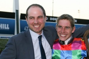 Luke Oliver (left) is keen to pursue the 2015 Australian Guineas for his colt Zeletto in the spring.