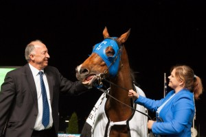 Trainer Robert Heathcote is confident Buffering will still line up for the 2014 Hong Kong Sprint despite suffering a hoof abscess. Photo: Race Horse Photos Australia