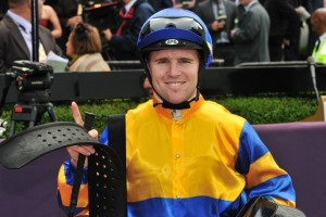 Jockey Tommy Berry is pleased to have picked up the ride on Orujo in the 2014 McEwen Stakes