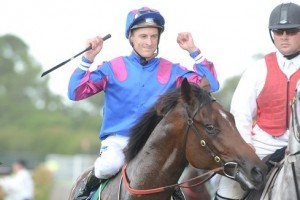 Blake Shinn and Guy Walter will combine with Zanbagh in the 2013 Crown Oaks at Flemington this afternoon.