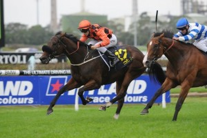Intimate Moment has claimed the 2014 Group 3 Epona Stakes