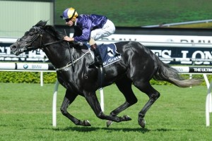 Beauty's Beast scored an impressive all the way win in the 2014 South Pacific Classic at Royal Randwick this afternoon.