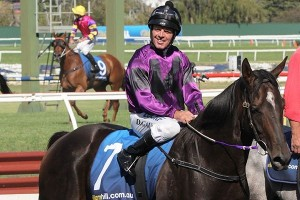 Darren Gauci (pictured on Kalashani Lad)